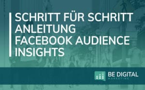 Facebook Audience Insights Anleitung