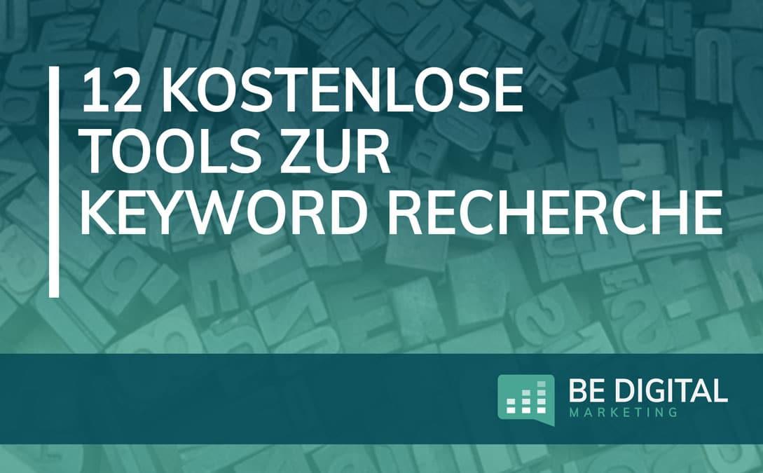 Kostenlose Tools zur Keyword Recherche