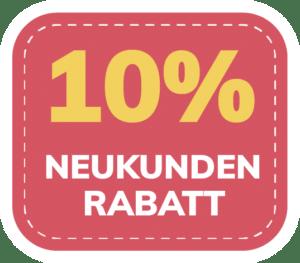 10% Neukunden-Rabatt