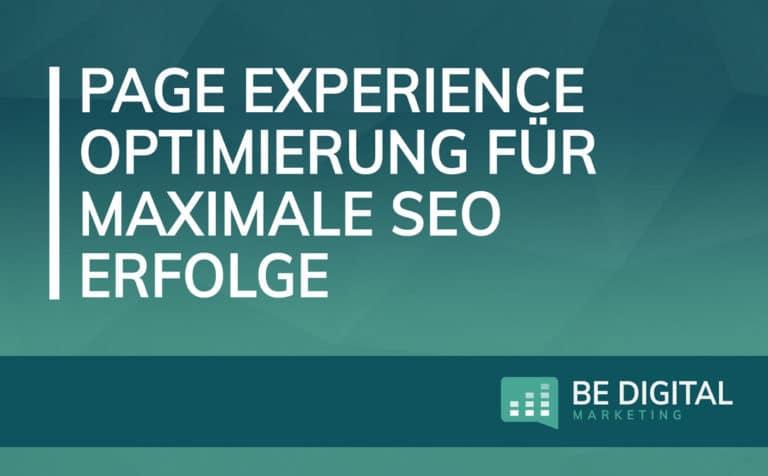 Page Experience Vorschau