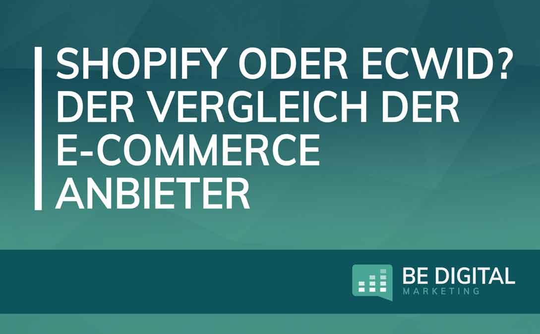Shopify vs Ecwid